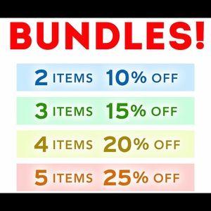 Other - Bundle up! 😊 Or make an offer!